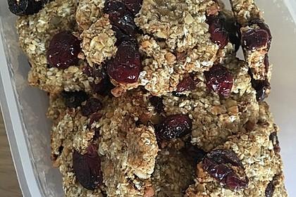 Gesunde Kekse aus Haferflocken 8