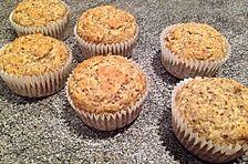 Leckere Haselnuss-Vanille-Muffins