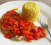 Einfaches Paprika-Tomaten-Gemüse (Bild)
