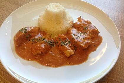 Indisches Butter Chicken aus dem Ofen 4