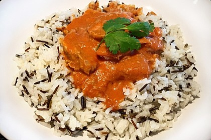 Indisches Butter Chicken aus dem Ofen 7