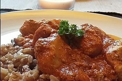 Indisches Butter Chicken aus dem Ofen 12
