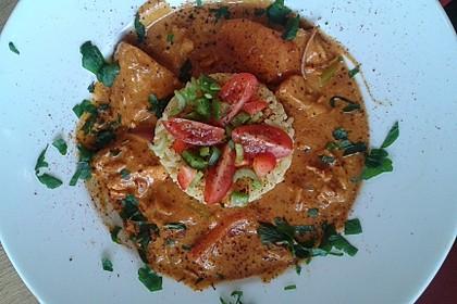 Rezeptbild zum Rezept Indisches Butter Chicken aus dem Ofen
