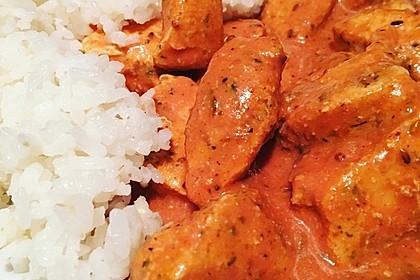 Indisches Butter Chicken aus dem Ofen 17