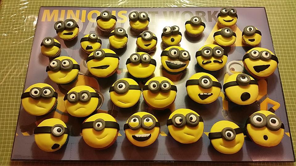Minions Cupcakes Mit Fondant Von Phideta Chefkoch De