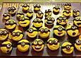 Minions-Cupcakes mit Fondant