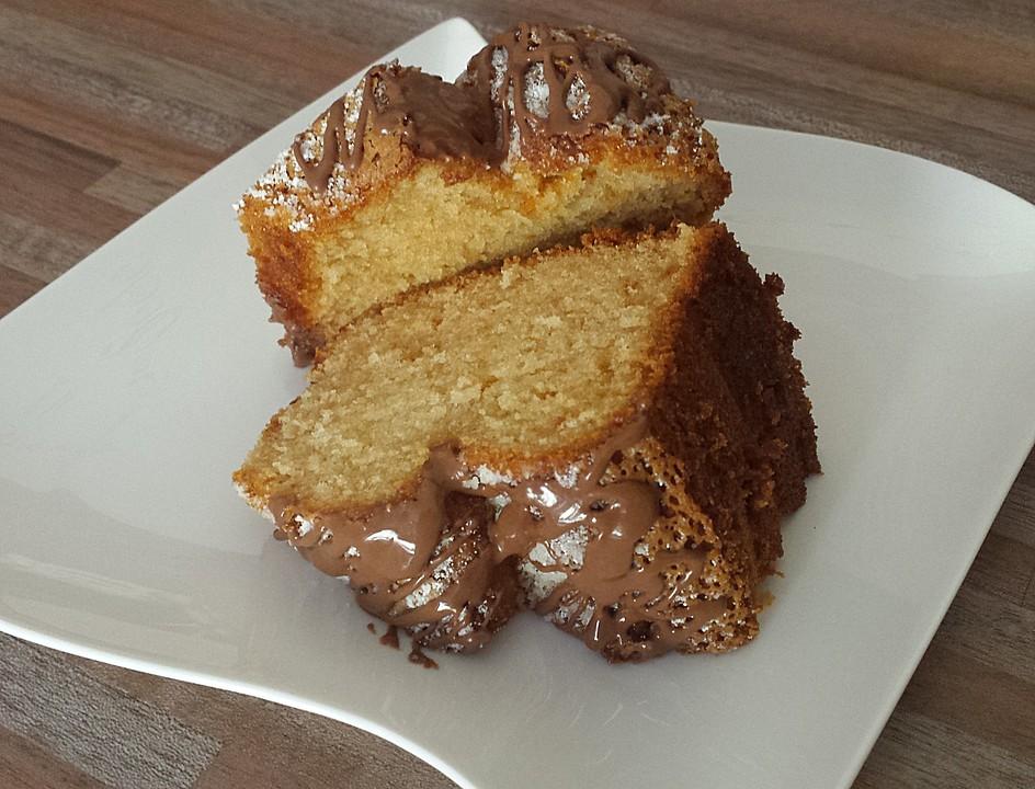 Saftiger mandel nuss kuchen