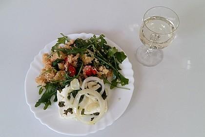 Couscous-Rucola-Salat mit Ofenfeta 3