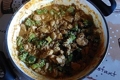 Thai-Curry-Hühnchen mit Brokkoli 4