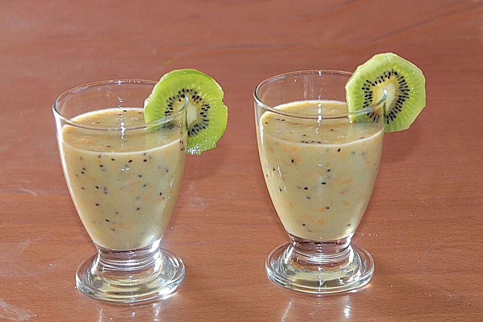 kiwi mandarine smoothie rezept mit bild von patty89. Black Bedroom Furniture Sets. Home Design Ideas