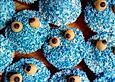 Vegane Krümelmonster Cupcakes