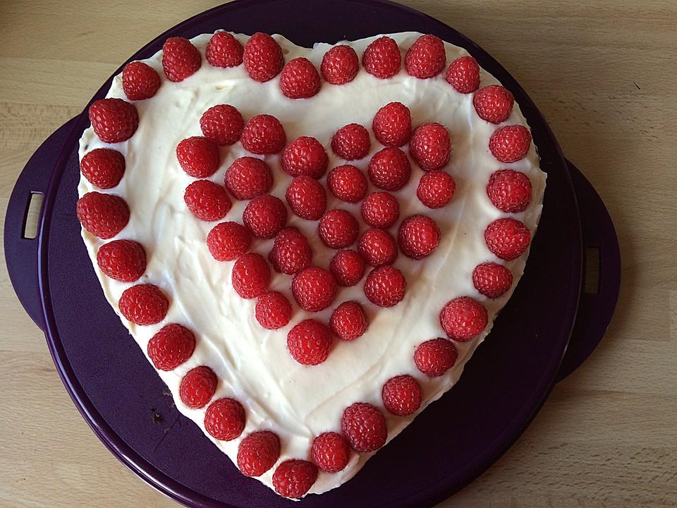 Himbeer Herzkuchen Appetitlich Foto Blog Fur Sie