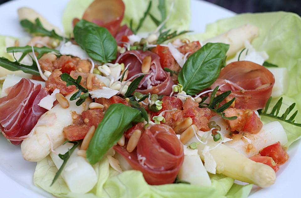 Rezept italienischer spargelsalat