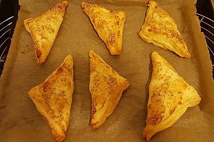 Blätterteig mit Gyrosfüllung und Feta-Käse 17