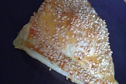 Blätterteig mit Gyrosfüllung und Feta-Käse 23