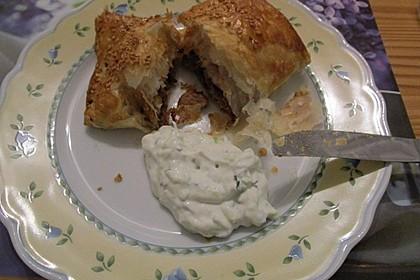 Blätterteig mit Gyrosfüllung und Feta-Käse 25