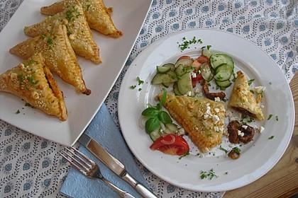Blätterteig mit Gyrosfüllung und Feta-Käse 1