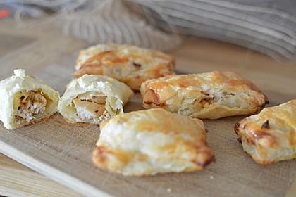 Blätterteig mit Gyrosfüllung und Feta-Käse 10
