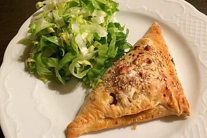 Blätterteig mit Gyrosfüllung und Feta-Käse 5