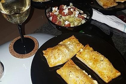 Blätterteig mit Gyrosfüllung und Feta-Käse 15