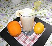 Orangen-Bananen-Buttermilch-Smoothie