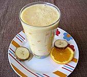 Orange-Banane-Buttermilch-Smoothie