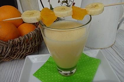 Orangen-Bananen-Buttermilch-Smoothie 1