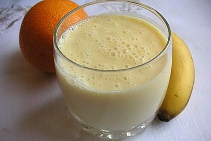 Orangen-Bananen-Buttermilch-Smoothie 8
