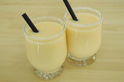 Orangen-Bananen-Buttermilch-Smoothie 2