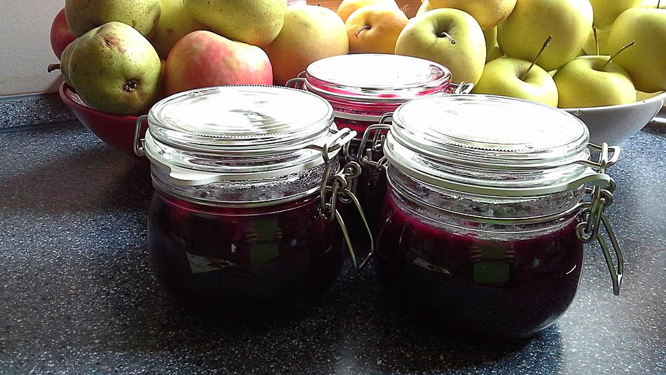 heidelbeer birnen marmelade rezept mit bild von bianca2608. Black Bedroom Furniture Sets. Home Design Ideas