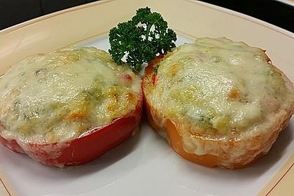 Die besten Paprika gefüllt und überbacken