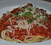 Spaghetti Bolognese Art (Bild)