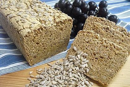 Glutenfreies schnelles, leckeres Ruck-Zuck Brot 5