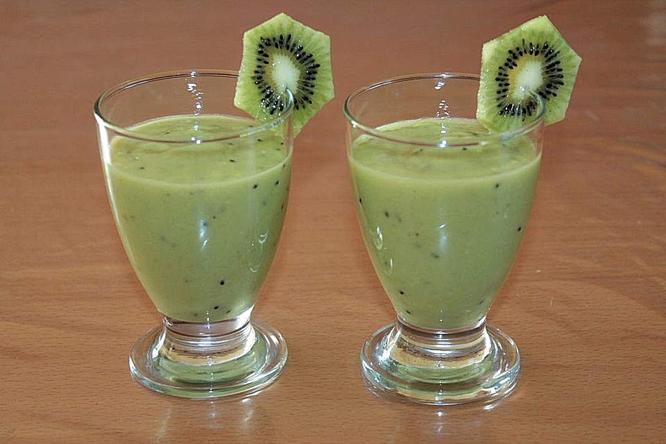 avocado kiwi apfel smoothie von patty89. Black Bedroom Furniture Sets. Home Design Ideas