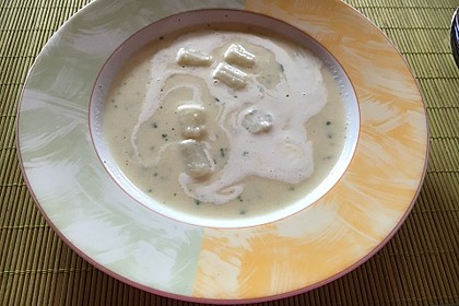 Spargelcremesuppe 3