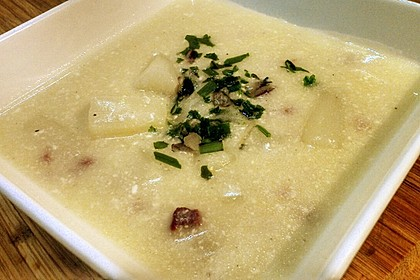 Spargelcremesuppe 4