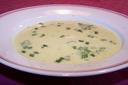 Spargelcremesuppe 1