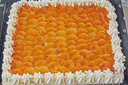 Blitztorte: Mandarinen im Paradies 5