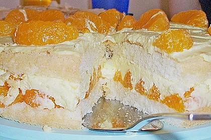 Blitztorte: Mandarinen im Paradies 28
