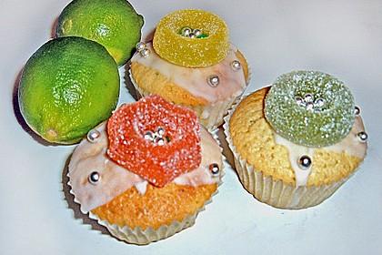 Limettenmuffinchen, einfach (Bild)