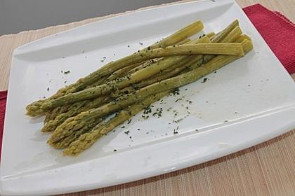 Salat vom Grünen Spargel 2
