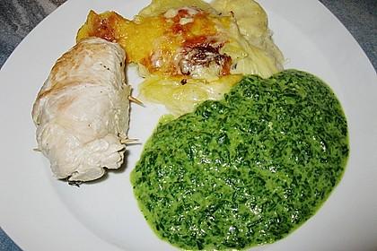 Puten - Spinat - Rouladen 6