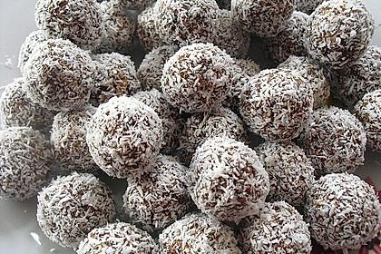 Schwedische Schokoladenkugeln