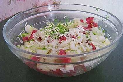 Warmer Fenchelsalat