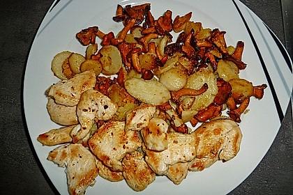 Kartoffel - Pfifferling - Pfanne