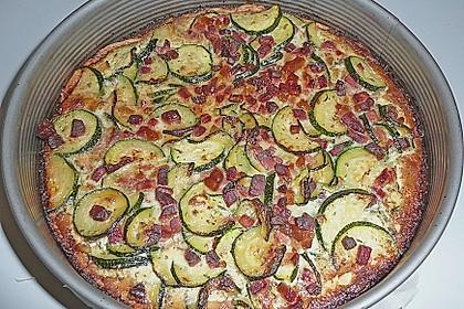 Zucchinitorte 40