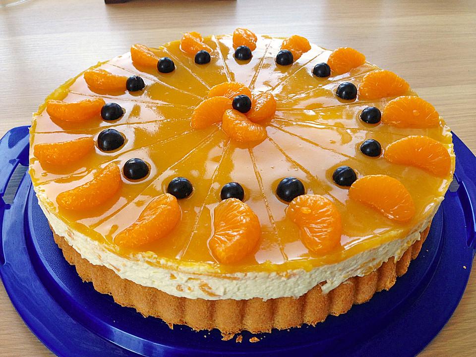 Schnelle Pfirsich - Sahne Torte von zauberin4 | Chefkoch.de