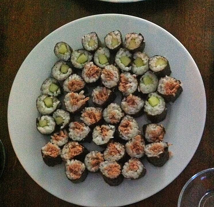 sushi reis rezept mit bild von judith. Black Bedroom Furniture Sets. Home Design Ideas