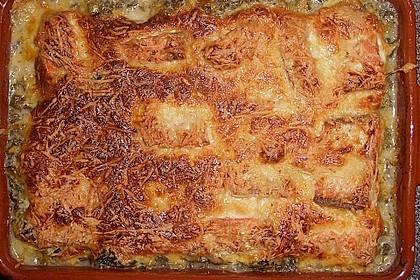 Lachs - Spinat - Auflauf 4
