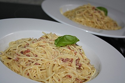 Spaghetti alla Carbonara nach Südtiroler Art 5